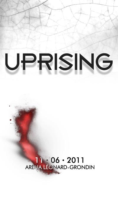 GEW Uprising '11 - Aréna Léonard-Grondin, Granby Side_uprising11teaser01